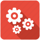 configuration, control, gear, gears, machine, setting icon