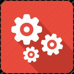 configuration, control, gear, gears, machine, setting icon