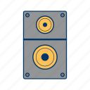 loudspeaker, media, multimedia, music, sound, speaker, volume icon
