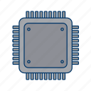 chip, computer, computer part, hardware, microchip, pc, processor icon