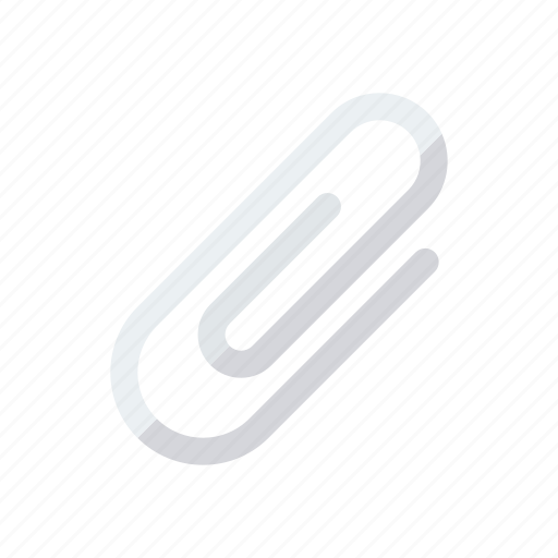 attachment, clip, paperclip, staple icon
