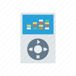 audio, mp3, music, songs icon