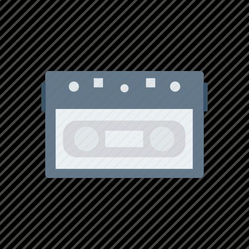 audio, cassette, media, music icon