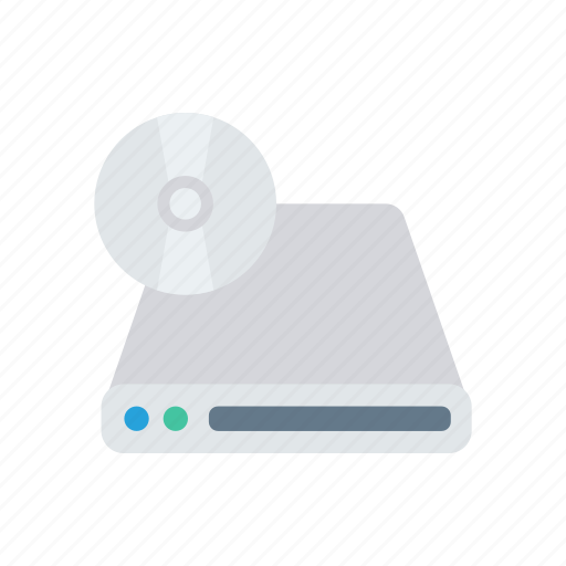 cd, disk, multimedia, room icon
