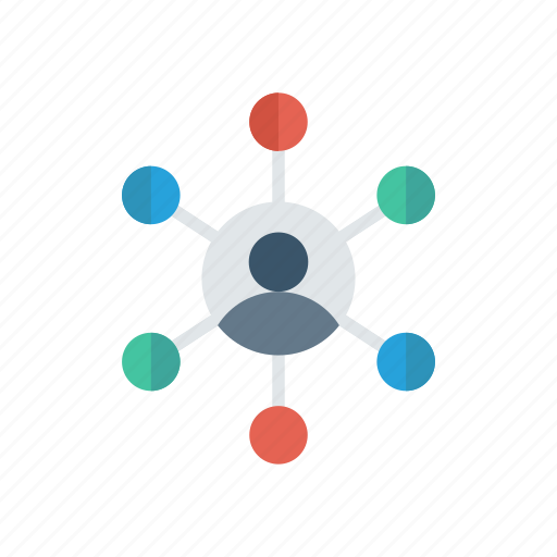 connect, connectivity, network, user icon
