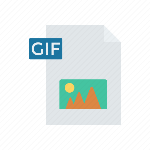 document, file, gif, image icon