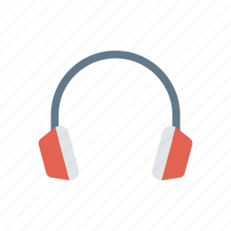 headphone, headset, music, support icon