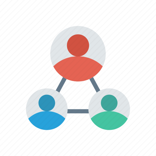 group, link, network, team icon