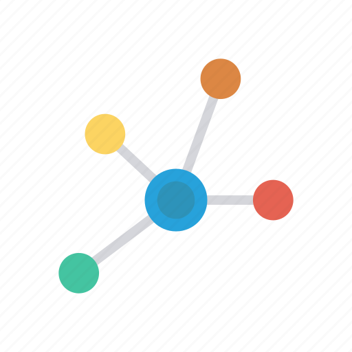 connection, link, network, server icon