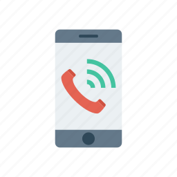 call, mobile, phone, ringing icon