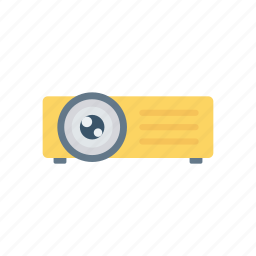 cinema, device, media, projector icon