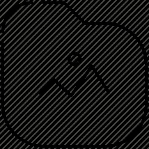 folder, photos, picture icon