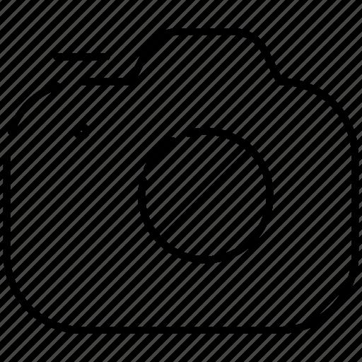 camera, capture, no, stop icon
