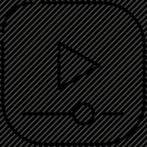 music, play, setting, videos icon