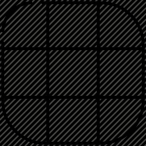 camera, capture, grid, photo, picture, video icon