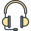 aduio, headphones, multimedia, music, sound icon