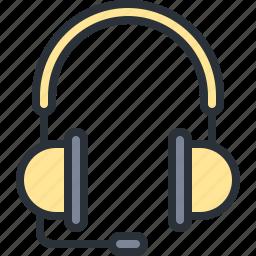 aduio, headphones, multimedia, music, sound icon