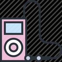 audio, ipod, mp3, multimedia, music, sound icon