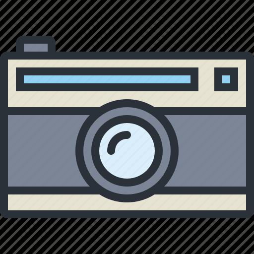 camera, multimedia, old, photo, photography icon