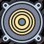 audio, multimedia, music, sound, speaker icon