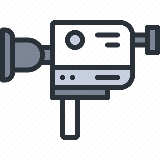 audio, camera, movie, multimedia, record, video icon