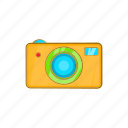 camera, cartoon, equipment, lens, photography, technology icon