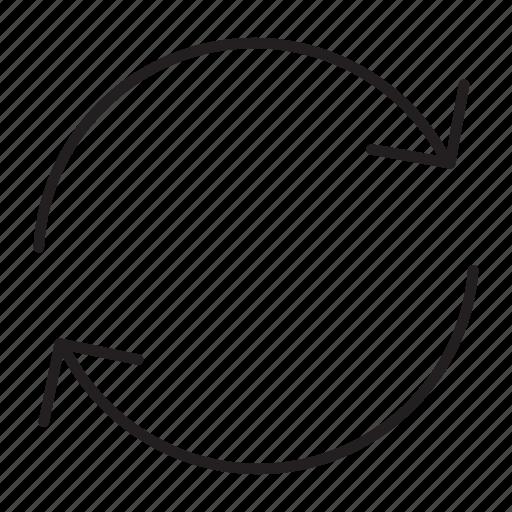 Repeat, refresh, reload, arrow, circle, rotation, loop icon