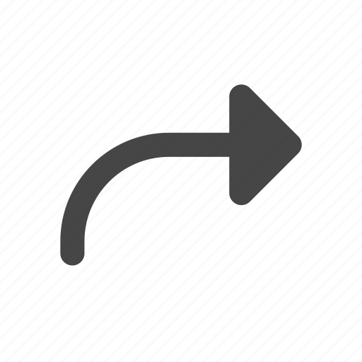 Arrow, forward, front, right, direction, ui icon - Download on Iconfinder