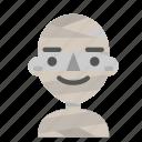 avatar, emoji, halloween, happy, horror, mummy, myth icon