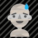 avatar, emoji, halloween, horror, mummy, myth, sorry icon
