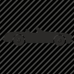 auto, automobile, cabrio, cabriolet, car, muscle, transport icon