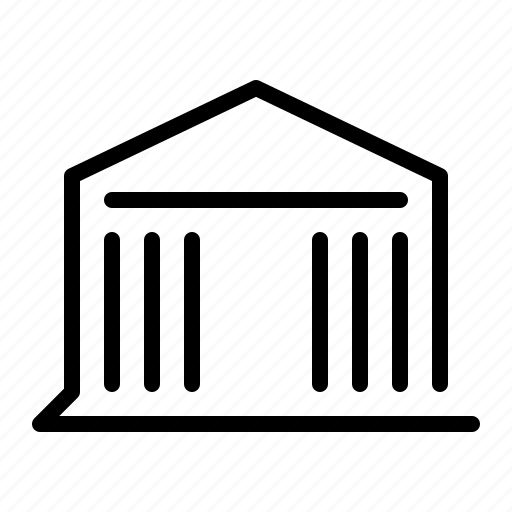 Museum, building, library icon - Download on Iconfinder