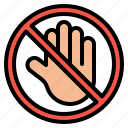 dont, not, prohibition, signaling, touch icon