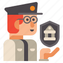 guard, museum, security icon