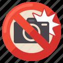 flash, no, photography