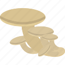 birch, food, forest, mushrooms icon