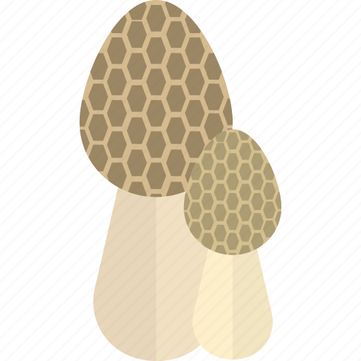 food, forest, grey, mushrooms icon