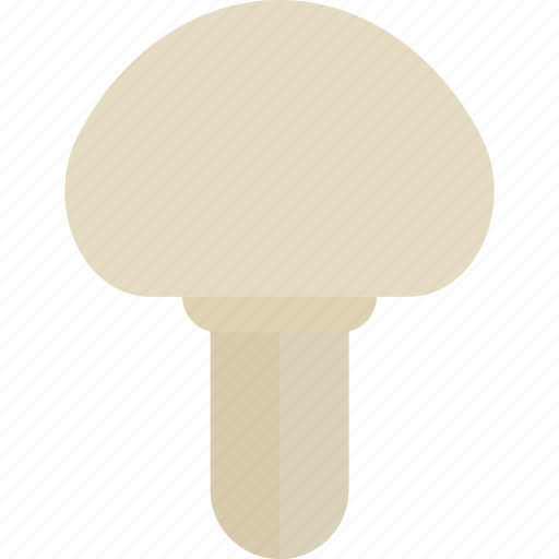 food, forest, mushrooms, white icon