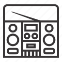 compo, electronic, mini, music icon