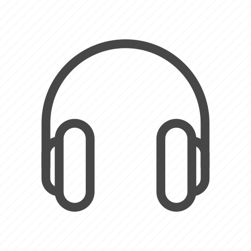 audio, headset, media, music, play, sound, speaker icon