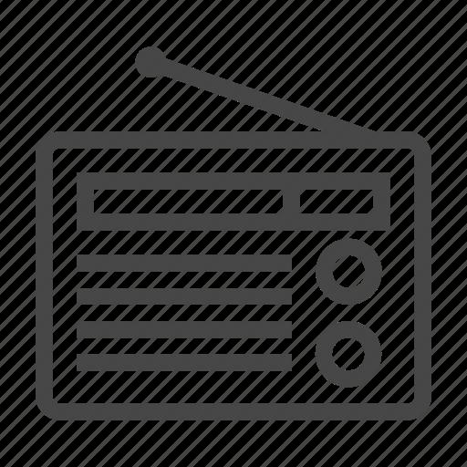 audio, media, multimedia, music, radio, social, sound icon