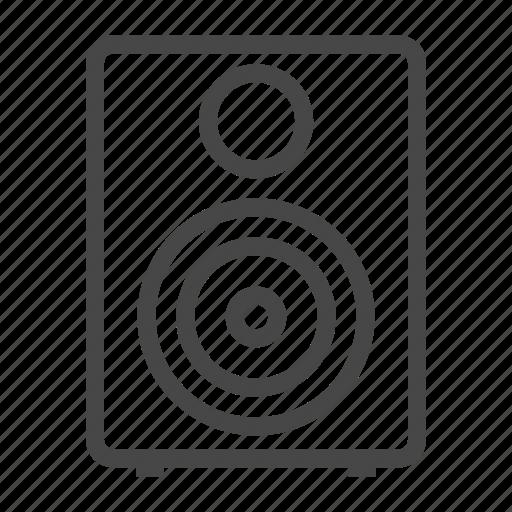 audio, media, music, song, sound, speaker, volume icon