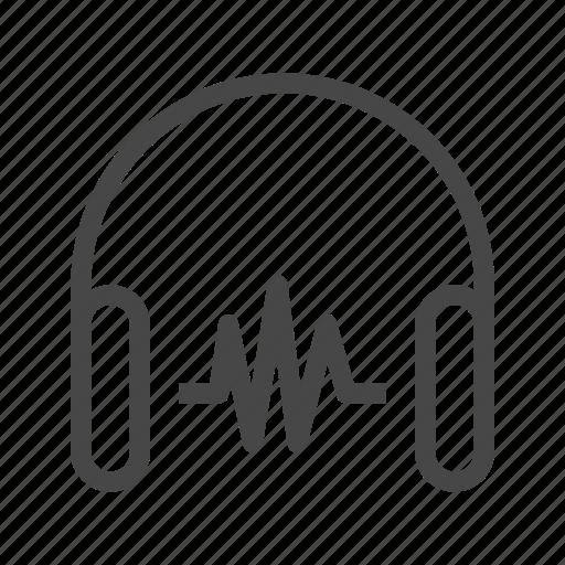 audio, headset, media, music, sound, speaker, volume icon