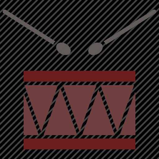 Drum, instrument, sticks icon - Download on Iconfinder