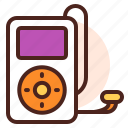 i, instrument, play, pod, sing, song icon