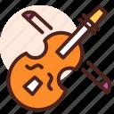 instrument, play, sing, song, violin
