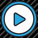 audio, media, multimedia, music, play, sound, video icon