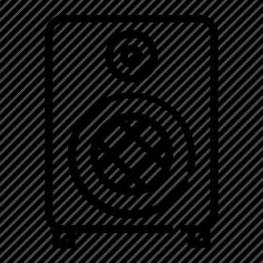 Audio, megaphone, music, on, sound, speaker, volume icon - Download on Iconfinder