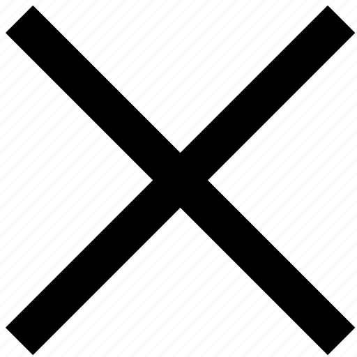 Cancel, close, cross, delete, minus, remove, trash icon - Download on Iconfinder