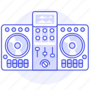 controller, dj, mixer, music, system, turntable